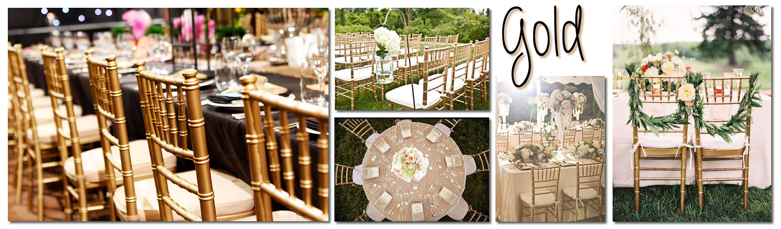 Mahogany Chiavari Chairs at Noble Rentals